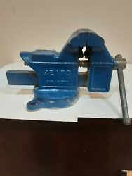Vintage Sears 4 Bench Vise Anvil Pipe Jaws Made In Usa