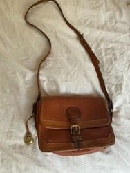 vintage dooney and bourke crossbody brown Made in USA $49.00