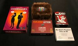 Bears Vs Babies + Exploding Kittens + Codenames + Mad Quao + We Didnand039t Play Test