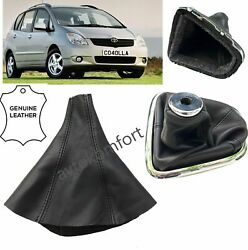 For Toyota Corolla Verso 2001-2004 Genuine Leather Gear Stick Gaiter Boot Cover