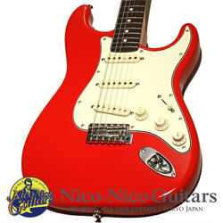Used Momose 2020 Mst1-std/nj Fiesta Red Electric Guitar Free Shipping