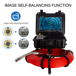 9 164ft Drain Endoscope System Waterproof Industrial Sewer Camera Dvr 16g 512hz