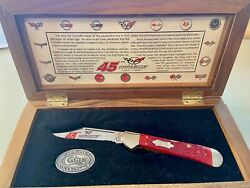 Corvette 45th Anniversay Case Knife 1953 1998 #20 out of 450 Limited Edition
