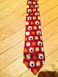 New Without Tag City Streets Boys 100 Silk Sports Ball Theme Necktie