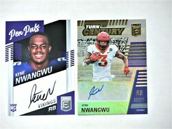 Kene Nwangwu 2021 Elite/ Pen Pals Auto And Turn Of The Century Auto And039d 167/199