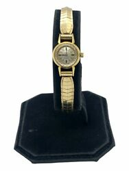 Vintage Omega 18k Womenand039s Manual Wind Watch Cal.650 Read