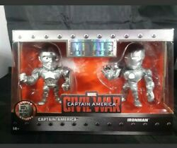 Avengers Captain America And Iron Man Civil War No Paint Figurines New