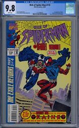 Cgc 9.8 Web Of Spider-man 119 1st Appearance Kaine Venom Scarlet Spider Cover