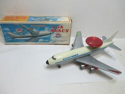 USAF BOEING E 3 A AWACS NEW N BOX BATTERY OPERATED TESTED GREAT