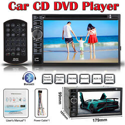 6.2 2din Car Stereo Cd/dvd Aux In Usb Radio Sd Tv Hd Player For Nissan Frontier