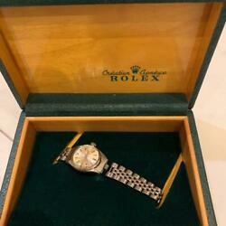 Rolex Oyster Perpetual Datejust Ref 6517 Automatic Watch Used