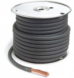 Grote 82-5753 Battery Cable, Black, 4/0 Ga, 100' Spool