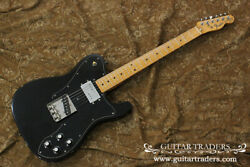 Used Fender Japan 1990's Tc72-550 Black Electric Guitar Free Shipping