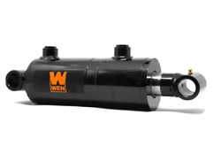 Wt3004 Cross Tube Hydraulic Cylinder With 3-inch Bore And 4-inch Stroke