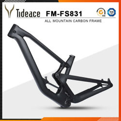All Mountain T1000 Carbon Full Suspension Mountain Bicycle Frame BB92 FS831