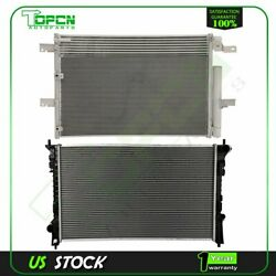 Fits Ford Lincoln Mkx Replacement Radiator And Condenser Assembly