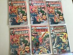 Lot Of 6 Marvel The Invaders 4 Of 4 5 7