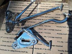 1932 Ford Dual Side Mount Spare Tire Brackets Deuce Coupe Sedan Victoria 32