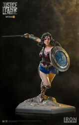Wonder Woman Justice League Iron Studios - 110 Art Scale Rare 4 Days Delivery