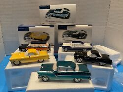 Dept. 56 1955 Ford With Sign Set Of 5 Snow Village 54950 New