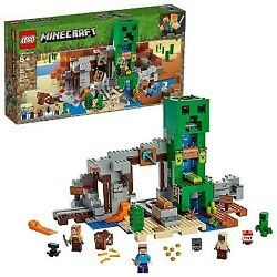 Lego Minecraft The Creeper Mine Toy Rail Track And Mine Building Set With Minifi