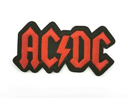 Ac/dc Embroidered Sew Iron On Patch Badge Punk Rock Metal + 027
