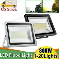 300w Led Flood Light Warm Cool White Outdoor Security Work Lamp Spot Floodlight