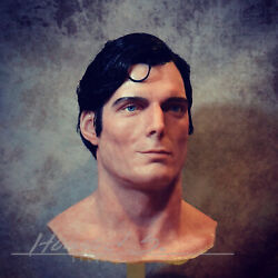 11 Christopher Reeve Superman Silicone Bust Prop/ Dc Comics Richard Donner