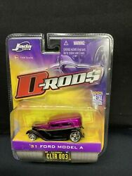 Jada 1931 Ford Model A D-rods 1/64 Scale 2005 Wave 1 Nib Clrt 003 Two Tone