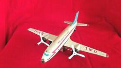 Oal Mf104 St-1 Antique Vintage Old Friction Tin Toy Aeroplane Overseas Air Lines
