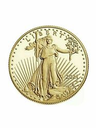 American Eagle 2021 One-half Ounce Gold Proof Coin Confirmed Order