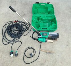 Leister Uniroof At/st 230v Roof Welding Machine W/ 100ft Extension Chord And Case