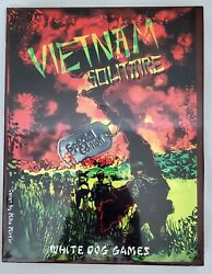 Vietnam Solitaire Special Edition Board Game NEW White Dog Games