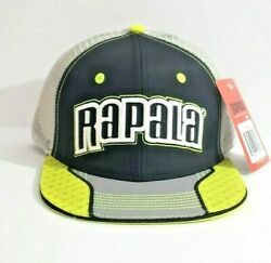 Rapala Fishing Tackle Snap Back Hat Embroidered Trucker Cap Brand New With Tag