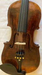 Antique Very Old Violin Full Size Beautiful Sound