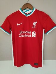 Nike Liverpool Fc 2020/21 Stadium Home Soccer Jersey Cz2647-687 Youth Large