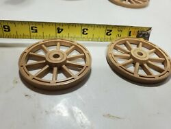 Original Front Wheels For Ideal Roy Rogers Stagecoach