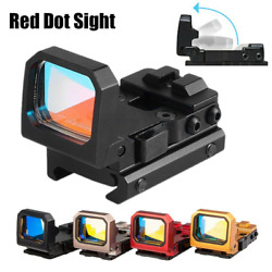 Tactical Mini Flip Up 3 Moa Red Dot Holographic Reflex Sight Scope Red Dot Sight