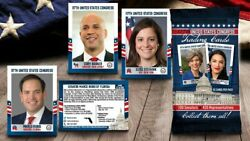 2021 United States Congress Fascinating Cards Pick A Card Michigan
