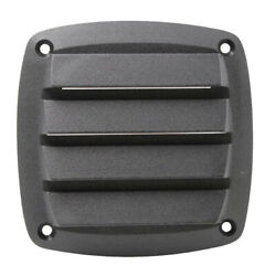 4 Inch 100mm New Black Plastic Louvered Vents Boat Marine Parts Vent Grill Cover