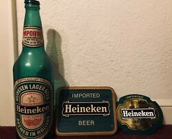 Used Vintage Heineken Beer Collectibles From The 80's