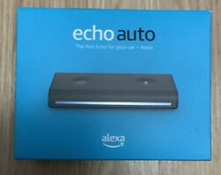 Echo Auto - Hands-free Alexa In Your Car With Your Phone Free Shipping New