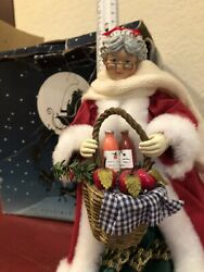 Possible Dreams Clothtique The Woman Behind Christmas Mrs Claus Rare Vintage