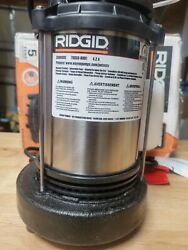 Ridgid 330rsds 1/3 Hp Cast Iron And Stainless Steel Sump Pump 330rsds