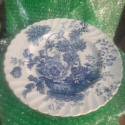 ROYAL STAFFORDSHIRE CHARLOTTE 10quot; DINNER PLATE 1 CLARICE CLIFF BLUE
