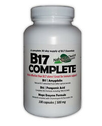 Vitamin B17 Complete Perfect Combination Contains Amygdalin And 10+ Supplements
