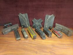 Marx Toys O Scale Train Set Nyc 999 W/ Track And Manual Switches