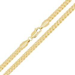Menand039s Solid Italian 14k Yellow Gold Franco Chain Necklace 26 3mm 37.9 Grams