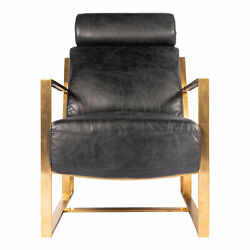 Moes Home Contemporary Modern Paradiso Chair With Black Finish Pk-1083-02