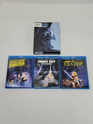 Laugh It Up, Fuzzball The Family Guy Trilogy Blu-ray 2010 3-disc Set Star Wars